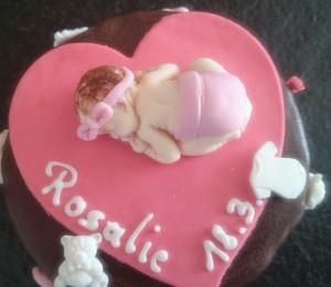 Torte Baby Mädchen