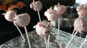 cake pop Schweinchen