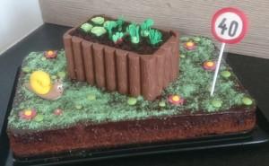 Hochbeet Garten Schnecke Torte