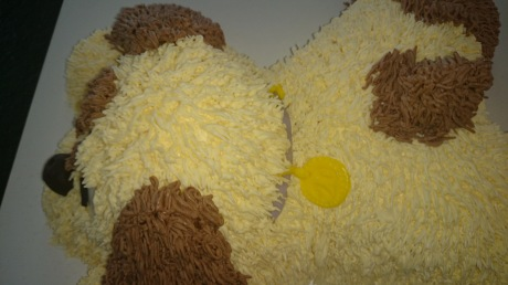 3D Torte Hund