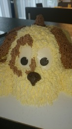3D Hund Torte