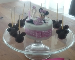 Torte Minnie Mouse Motivtorte