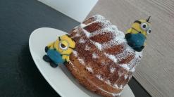 Minions Torte Motivtorte Guglhupf