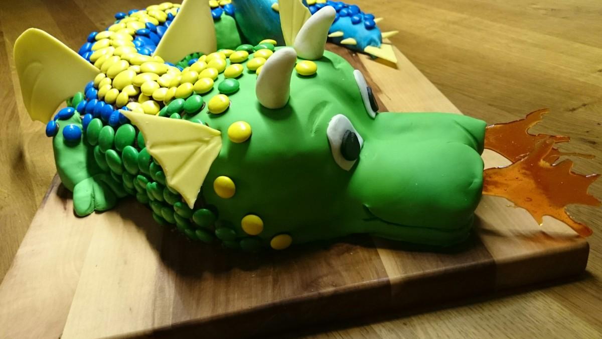 3D Torte  -  Drache