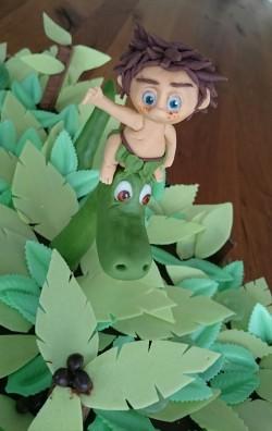 Arlo und Spot Motivtorte Dschungel.jpg